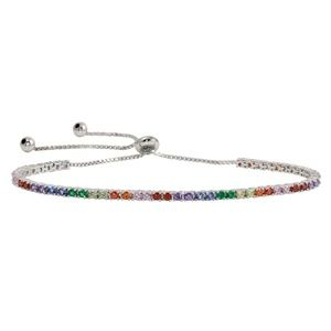 Jewelry - New Multi-Colored CZ Tennis Bracelet